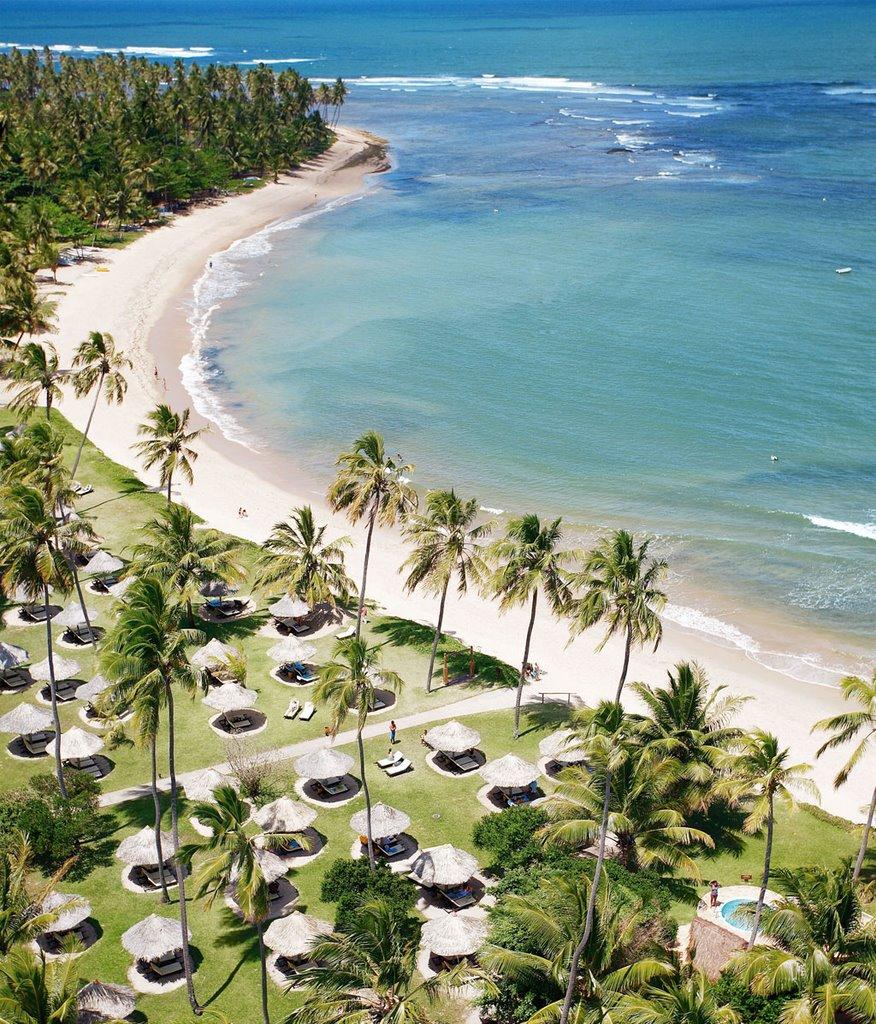 Bangalôs chalés de praia  Transamerica Comandatuba